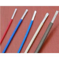 PVC, Polypropylene & Nylon Coated Wire Rope
