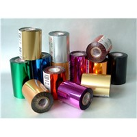 colorful selective aluminum salon foil