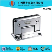 90 degree stainless steel glass hinge YK-2006