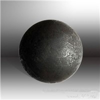 Forged grinding balls for ball mills