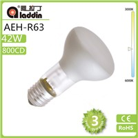 R63 halogen lamp from china factory with 28/42w