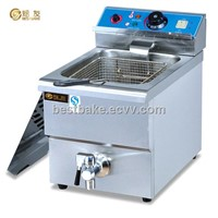 Counter top electric 1-tank&1-basket fryer BY-DF12L