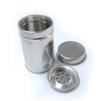 wholesale spice tin box with window