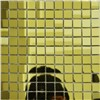 PE14 golden mirror glass mosaic decorative tile