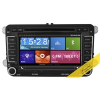 Capacitive Touch Screen Car DVD Player for VW Series with 3G/WIFI/DVR/OBD/TMC Function