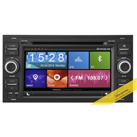 Capacitive Touch Screen Car dvd player for  Ford Focus with 3G/WIFI/DVR/OBD/TMC Function