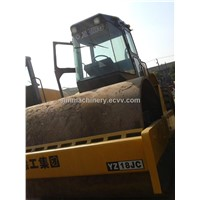 Used condition XCMG YZ18JC road roller with single drum XCMG 18t road roller for sale