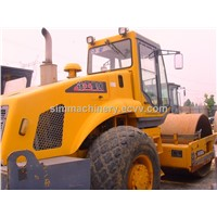 XCMG XS222J single drum rolloer type road roller used condition XCMG 22t road roller