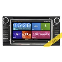 Capacitive Touch Screen Car DVD Player With 3G/WIFI/OBD/DVR/TMC Function for Toyota Series