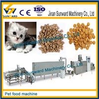 Automatic pet food machinery / dog food machine/ ca food line