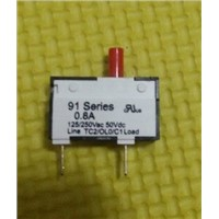 0.8A  mini circuit breaker for  soybean milk machine 91 series