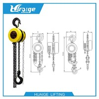 Good Chain Hoist, Chain Block, Manual Hoist for Distributor