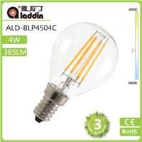 LED global bulb/filament bulb with E14 base in 85-265v