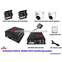New Vehicle CCTV 3G/4G 8CH HDD Mobile DVR