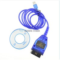 VAGCOM USB KKL 409.1 Cable For AUDI Volkswagen OBD2 OBDII Car Diagnostic Scanner