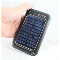 portable mobile solar charger 5600 mah 3.7v