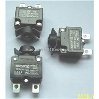 manul reset circuit breaker with approval rset switch