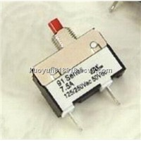 7.5A  mini circuit breaker for small electric applance  91 series