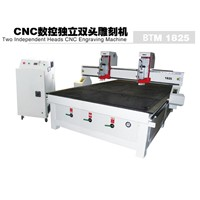 CNC Engraving Machine/CNC Router - Two Independent Heads Engraving Machine BTM18