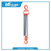 China Manufacturing Manual hoist chain hoist