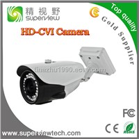 HD-CVI camera 1.3Megapixel 720P CMOS sensor, varifocal lens 2.8-12mm waterproof bullet camera
