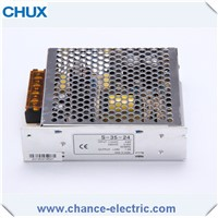 12V 24Vsingle output LED DC switching power supply 35w