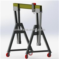 moving portable Aluminum mini Gantry Crane