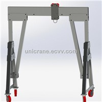mobile portable Aluminum Gantry Crane