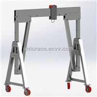 movable portable Aluminum mini Gantry Crane