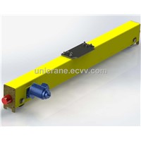 Taiwan style innovative end carriages design for single girder bridge crane