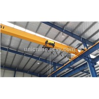 European style single girder bridge cranes with hoist