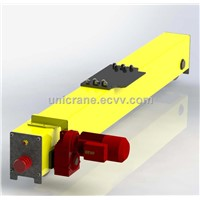 Europe style Novel end carriages design for single girder Bridge crane