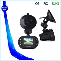 C600 12pcs IR dashboard in car camera 1.5inch screen good night vision smart-fly