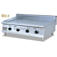 Counter top stainless steel gas griddle with flat plate BY-GH48