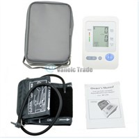 Digital arm blood pressure monitor Large LCD+features (Memory, WHO indicator) US
