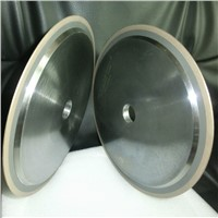 Metal bonded diamond cutting wheels for glass