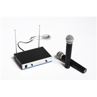 V210-VHF 2x wireless microphones