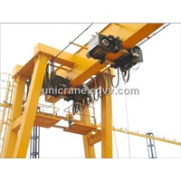Euro-style single girder Gantry cranes