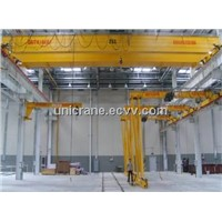 Euro-style double girder bridge cranes with hoist