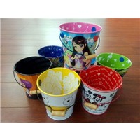 wholesale mini personalized gift tin bucket