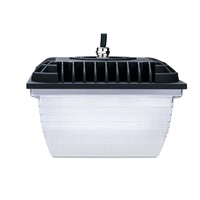 35W Square LED canopy low bay light UL listed E354939 available for motion sensor