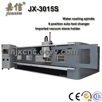JIAXIN First class quality CNC3015S marble granite grinding and polishing cnc center