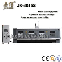JX-3020S JIAXIN Automatic Tool Changing Granite CNC Engraving Machine/CNC Router