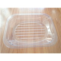 Disposable Clear Plastic PET Food Packing Tray