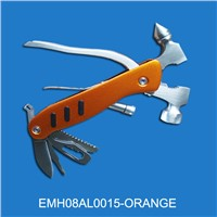High quality multi hammer with LED torch (EMH08AL0015-ORANGE)