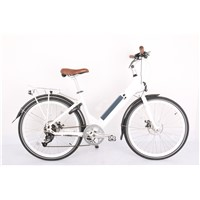 "26"" Alloy Electric Bicycle with Lithium Battery"