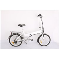 Electric Folding Bicycle CF-TDN06Z/Electric bikes with good quality/Alloy Ladies Electric Bicycle