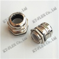 Nickel plated brass cable gland (CGB Series)