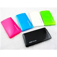 external mobile power bank dual port battery charger pack  for iphone ipad samsung phone 5000mah