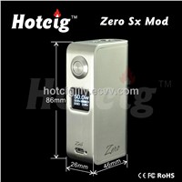 hotcig newest zero mod clone box mod 50watt fit with battery 18650